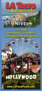 Hollywood, Santa Monica, Santa Barbara, Los Angeles Sightseeing Tour. Save on Guided Travel  . 1-800-761-1775