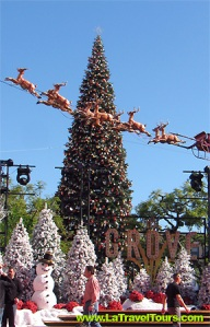 The Grove Christmas Holiday Tree