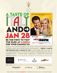 Taste of Italy Special Event The Grove LA