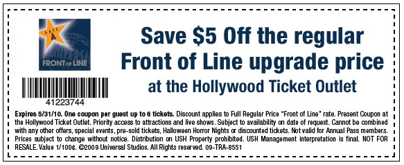 Before you head to the park, decide whether you should purchase the Universal Studios Hollywood Universal Express (formally known as the Front of Line)!