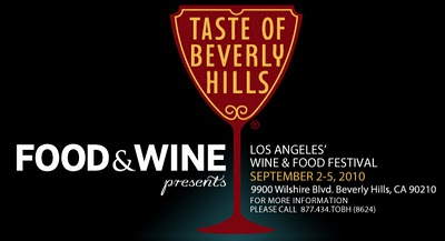 Taste of Beverly Hills Food and Wine Festival in Los Angeles